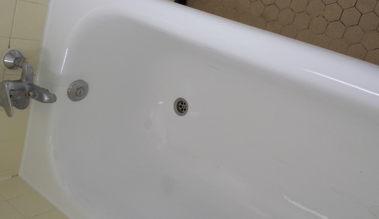 Baignoire remise à neuf